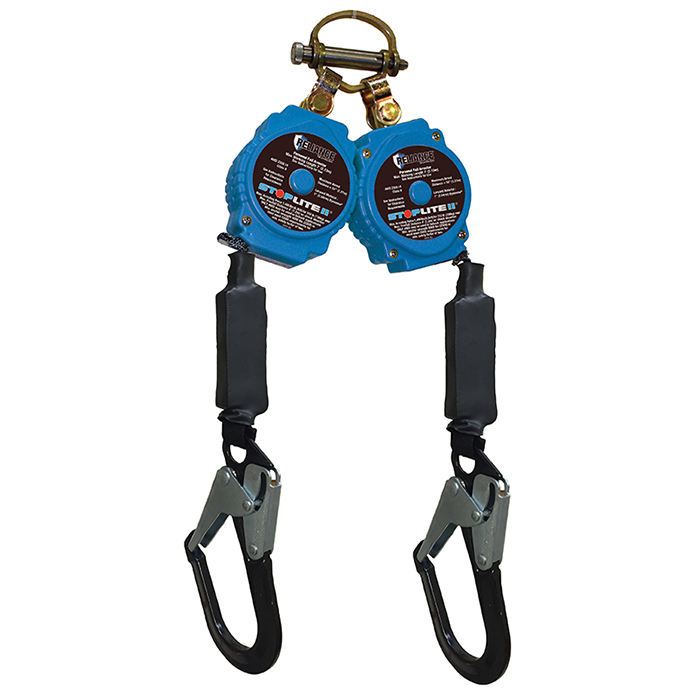 StopLite II™ Self Retracting Lifeline, TWIN, 7'