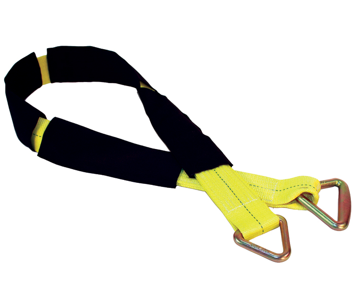 I-Beam Anchor Strap with Wear Sleeves