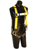 Reliance A-Series 3 D-Ring Vest Style Harness, W/ Reflective Tape